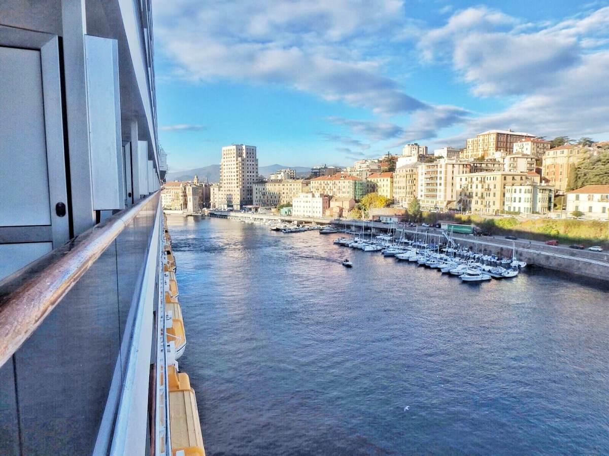 Vue du balcon, Costa Favolosa