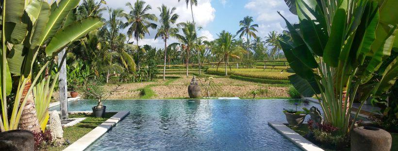Hotel paradisiaque, Ubud, Bali