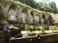Sculptures, Gunung Kawi, Bali