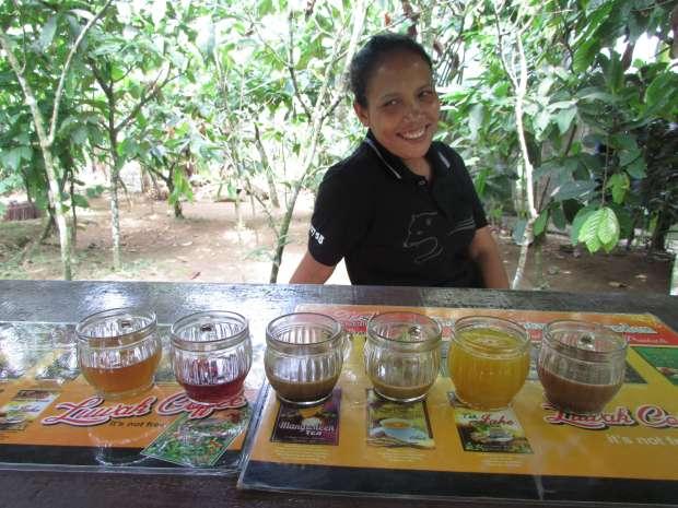 Dégustation café, Ubud, Bali