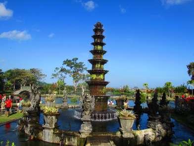 Fontaine, Palais de Tirta Gangga, Bali