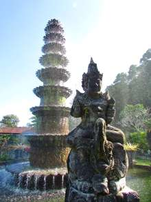 Fountain, Tirta Gangga, Bali