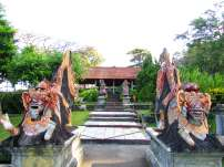 Statues, Tirta Gangga, Bali
