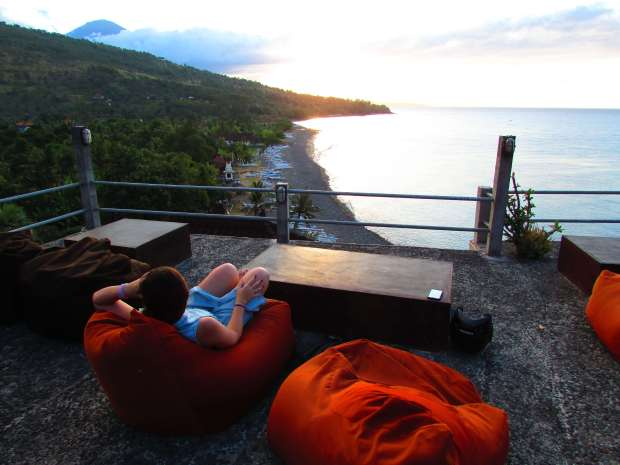 Sunset, Amed, Bali