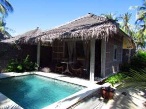 Piscine privée, Villas Ottalia, Gili Trawangan