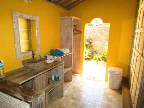 Salle de bains, Villas Ottalia, Gili Trawangan