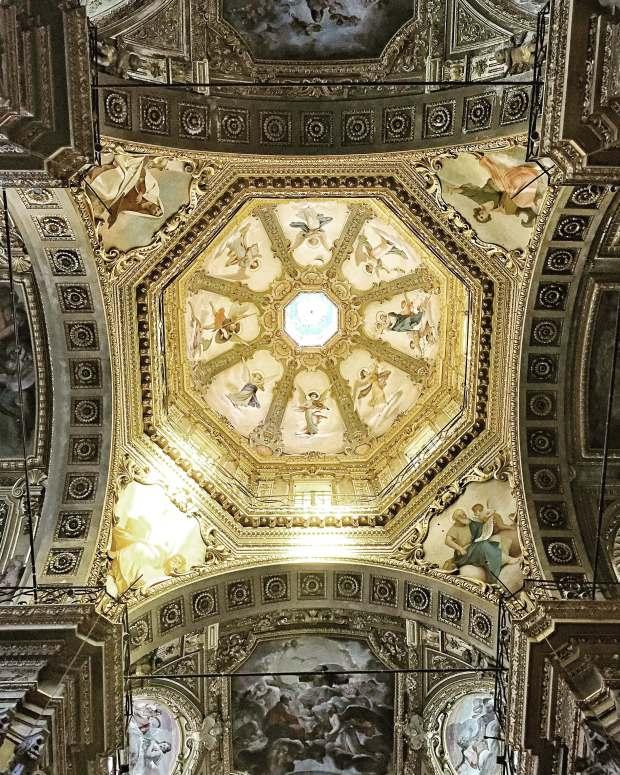 Plafond cathédrale de Gènes
