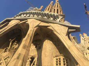 Sagrada Familia, Façade Extérieure, Barcelone, Espagne