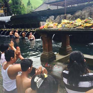 Source sacrée de Tirta Empul, Bali