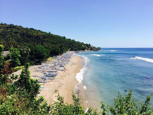 Plage, Amed, Bali