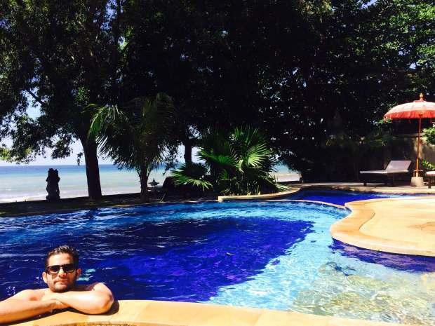 Piscine, Amed, Bali