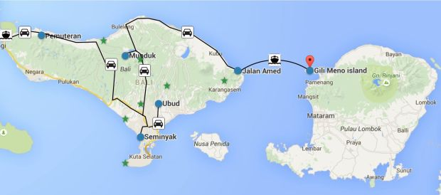 Circuit 3 semaines à Bali