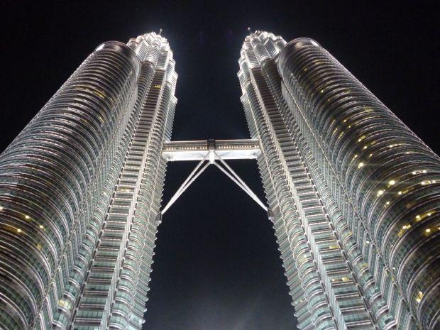 Tour Petronas de nuit, Kuala Lumpur