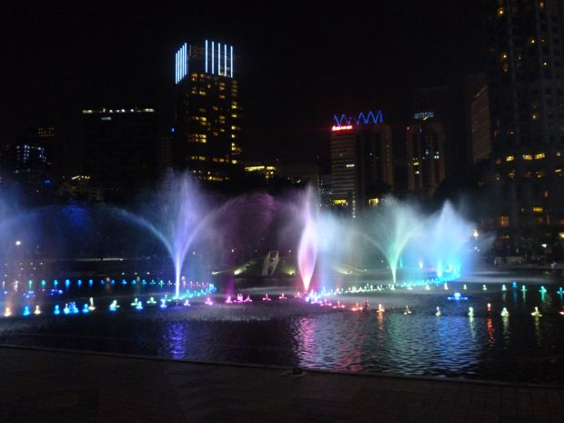 Fountain show, Kuala Lumpur