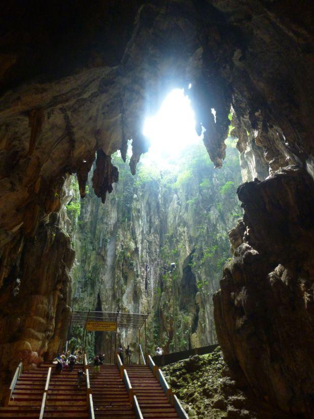 Inside Batu Caves, Kuala Lumpur