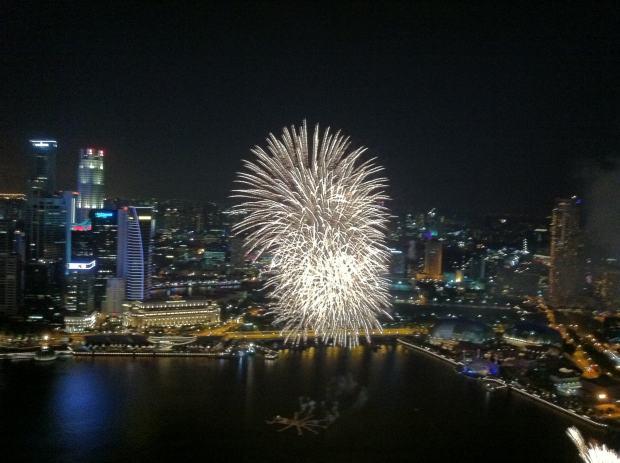 Firework, Singapour