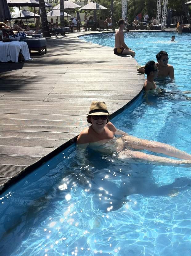 Pool bar, Sentosa, Singapour