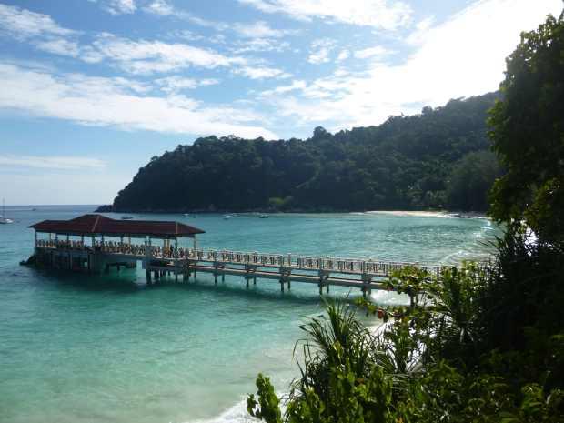 Ponton, Perhentian, Malaisie