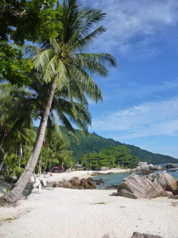 Plage paradisiaque, Perhentian, Malaisie