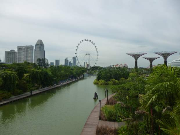 Lake, Gardens by the Bay, Singapore