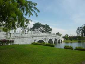 Pont, Chinese Garden, Singapour