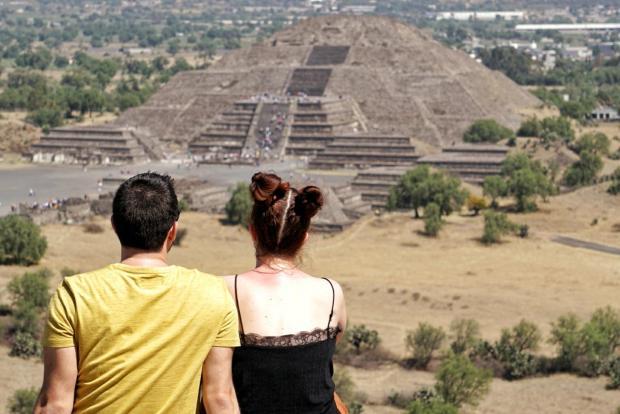 Site archéologique de Teotihuacan, Mexique