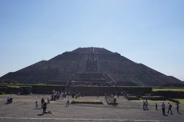 Pyramide du soleil, Teotihuacan, Mexique