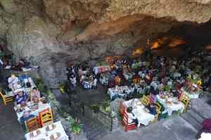 Restaurant La Gruta, Teotihuacan, Mexique
