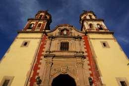 Eglise jaune, Querétaro, Mexique