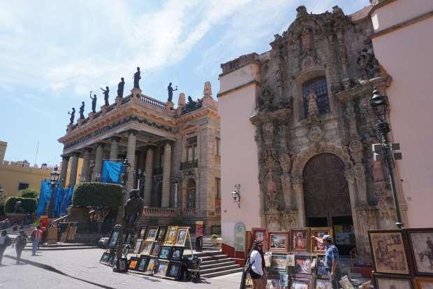 Teatro Juarez, Guanajuato, Mexique