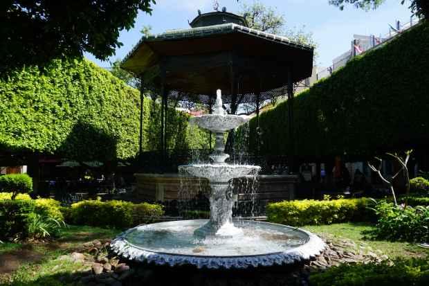 Jardin de la Union, Guanajuato, Mexique