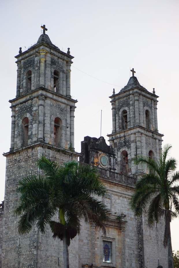 Cathédrale, Valladolid, Mexique