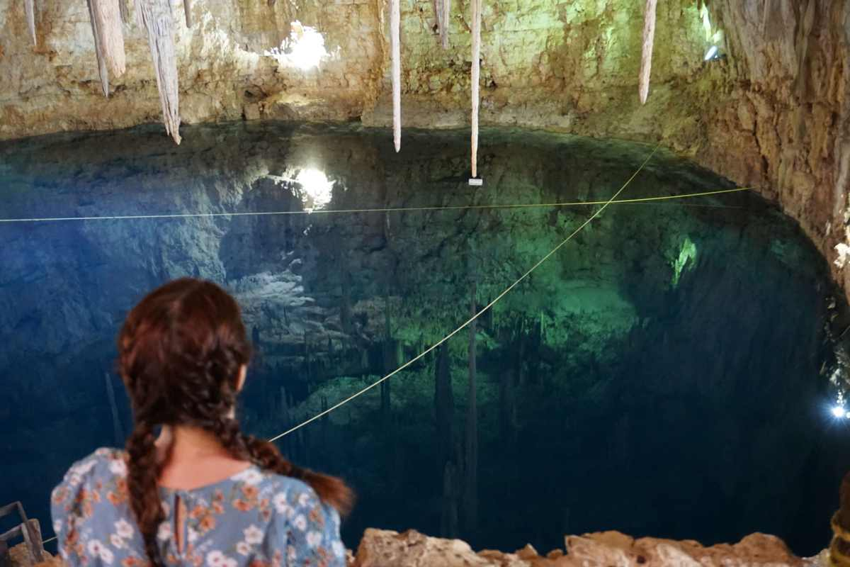 Cenote sans touriste, Valladolid, Mexique
