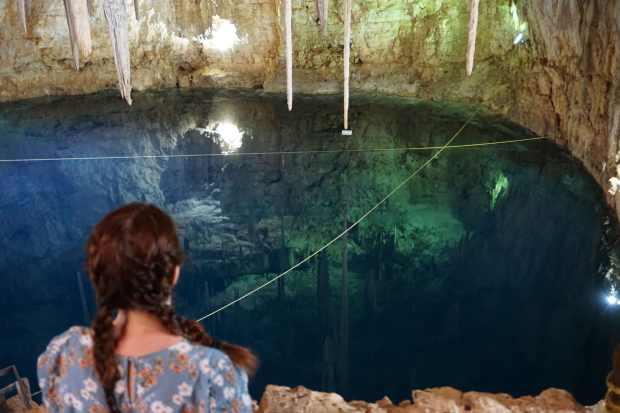 Cenote sans touriste, Valladolid, Mexique