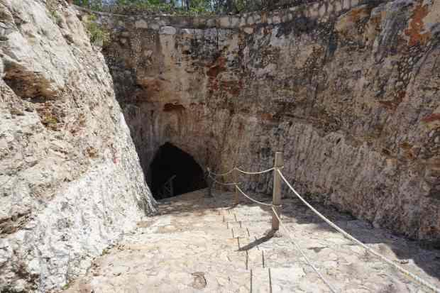 Entrée Cenote, Valladolid, Mexique