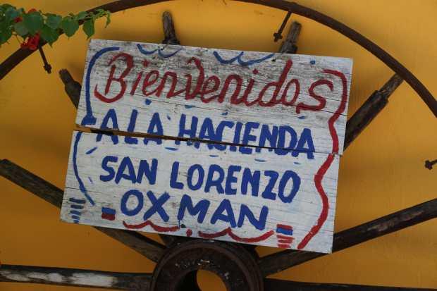 Hacienda San Lorenzo Oxman, Valladolid, Mexique