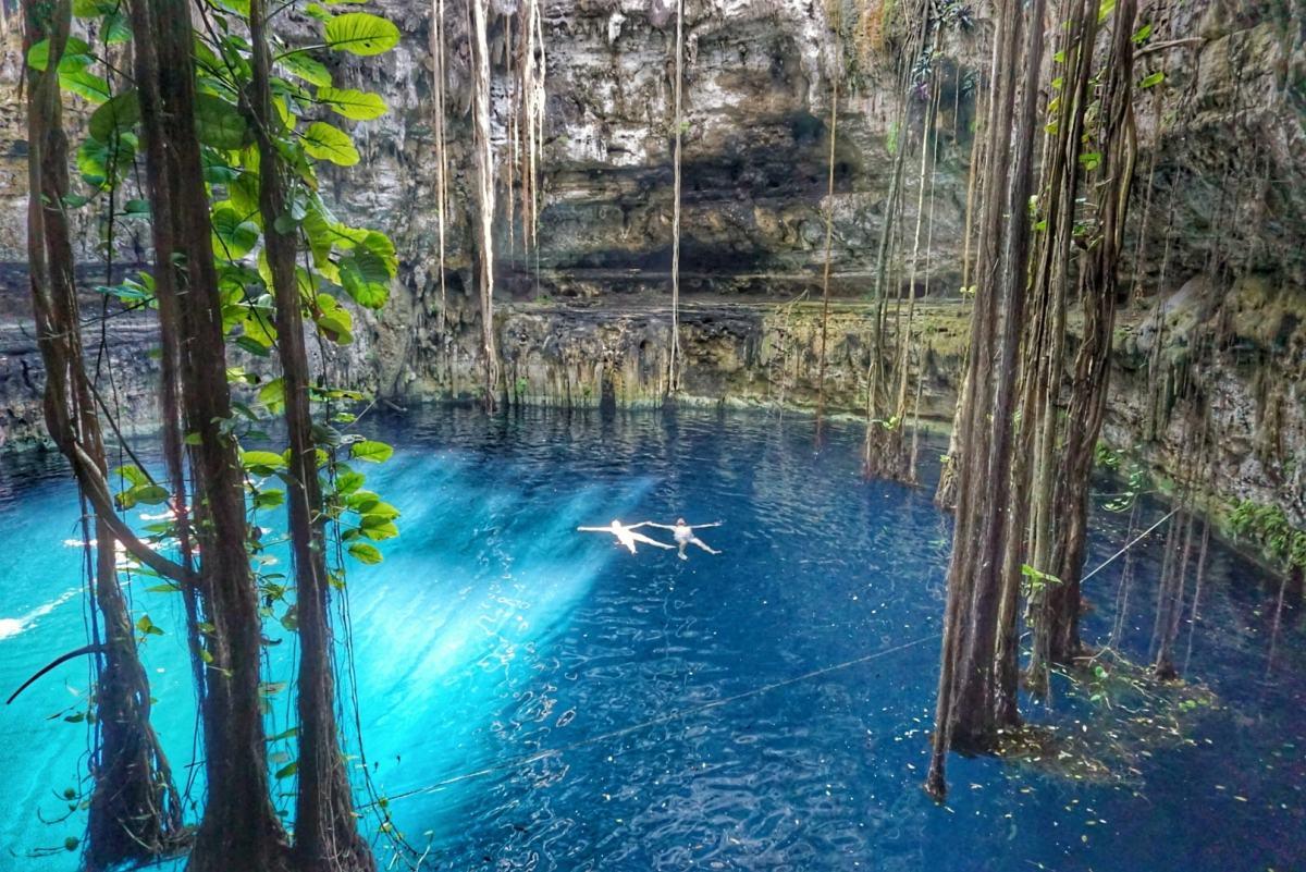 Cenote Oxman, Valladolid, Mexique