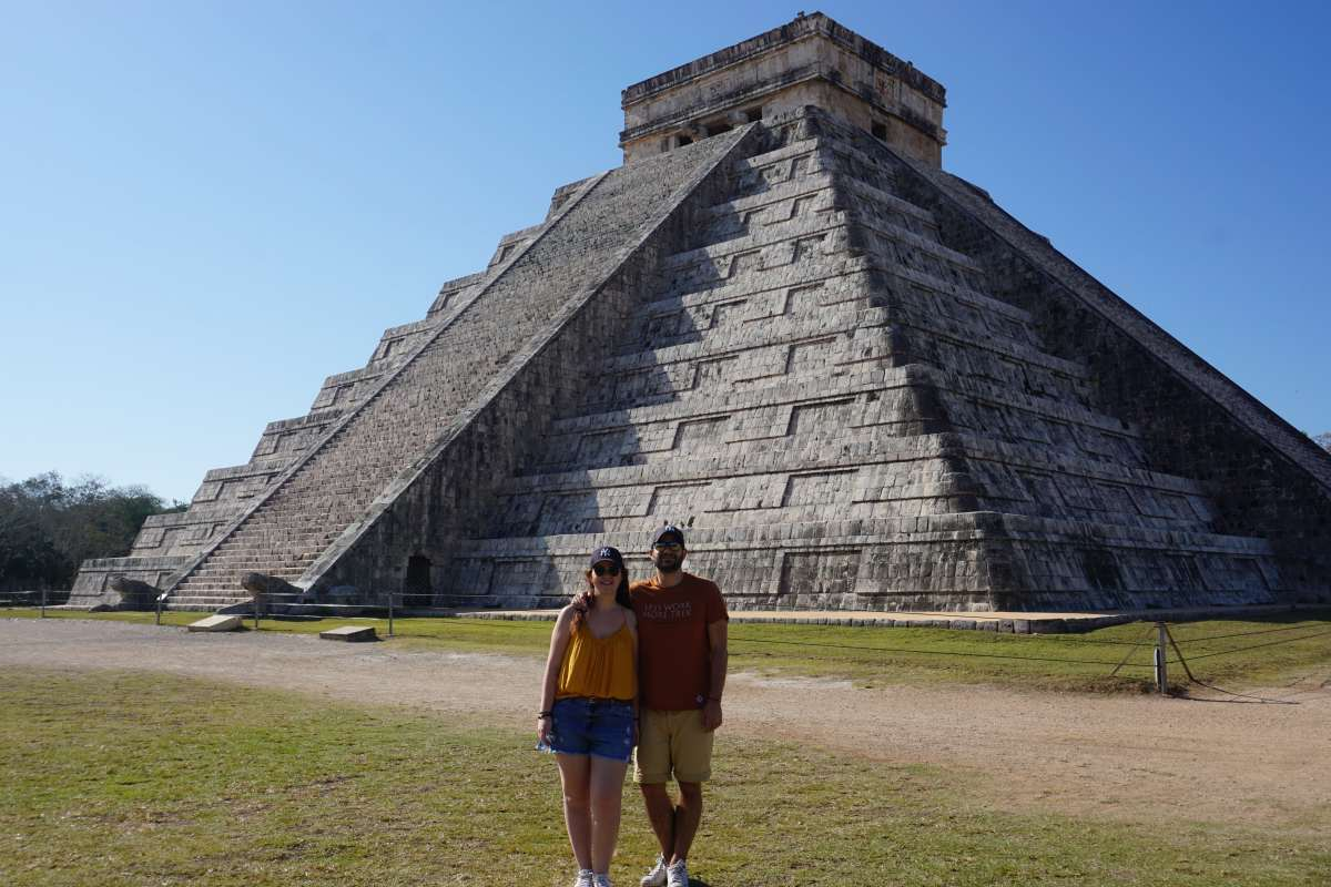 Pyramide Chichen Itza, Mexique