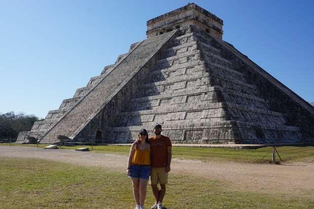 Pyramide Chichen Itza, Mexique