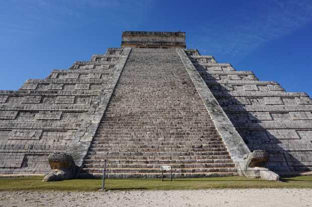 Visite de Chichen Itza, Mexique