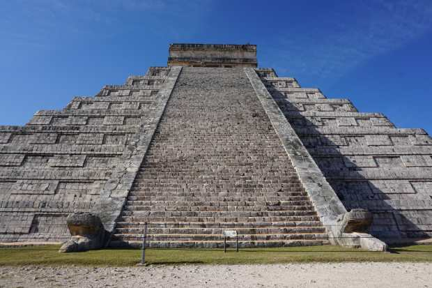 Visite de Chichen Itza, Mexique