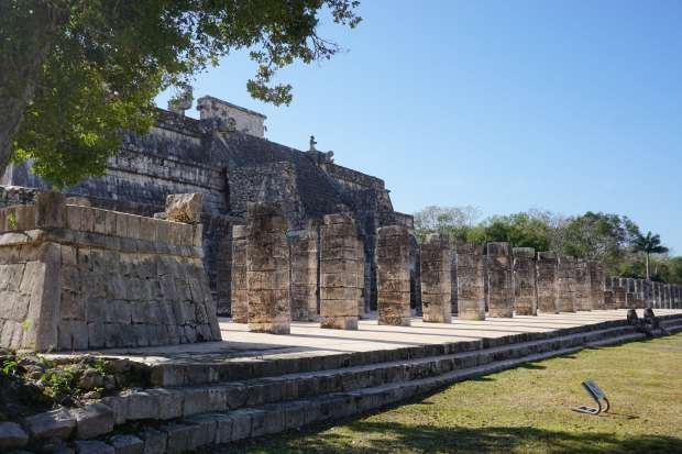 Ruines de Chichen Itza, Mexique