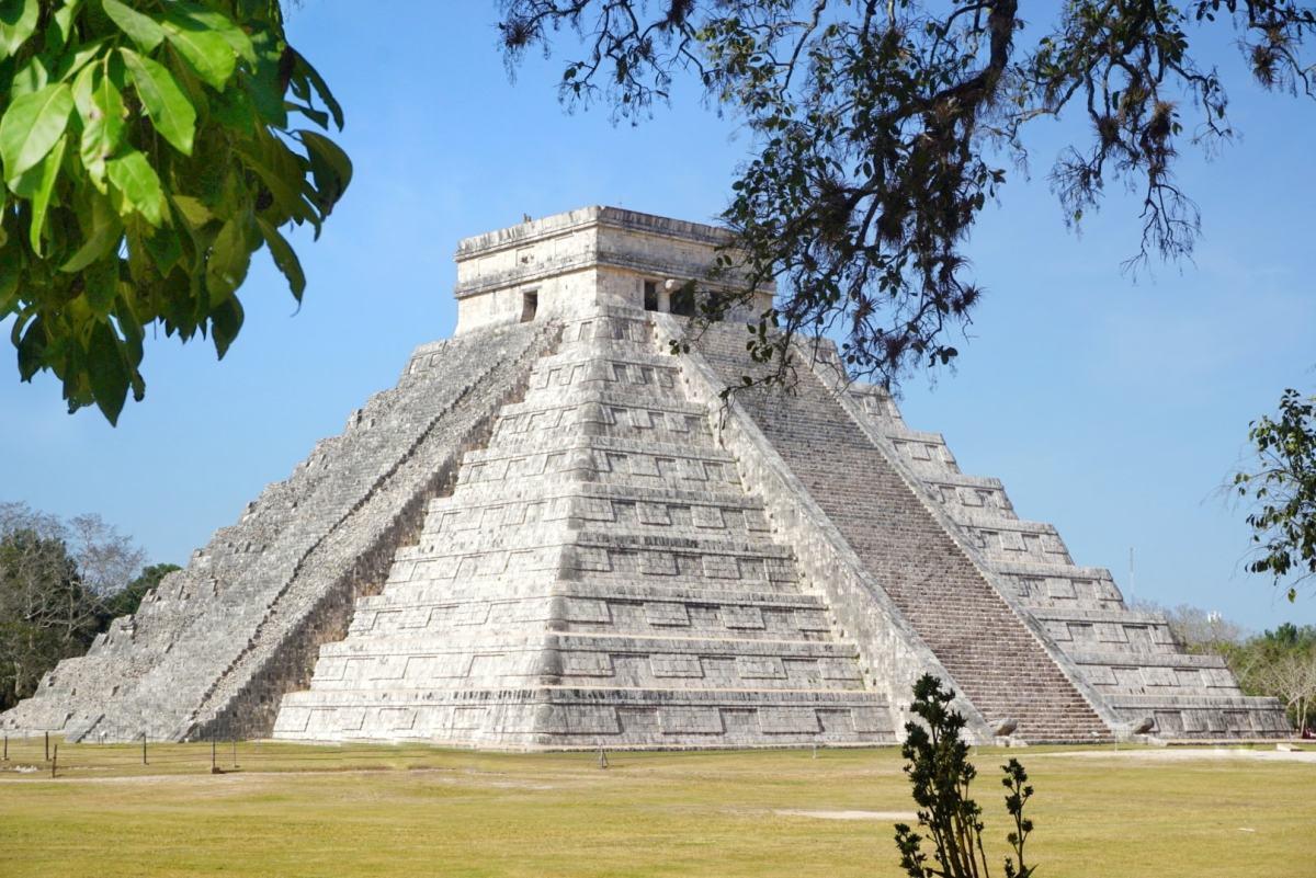 Chicken Itza Pyramid, Mexico