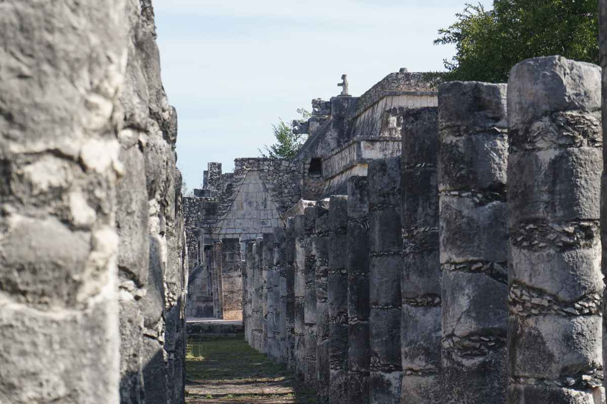 Mille Colonnes, Chichen Itza, Mexique