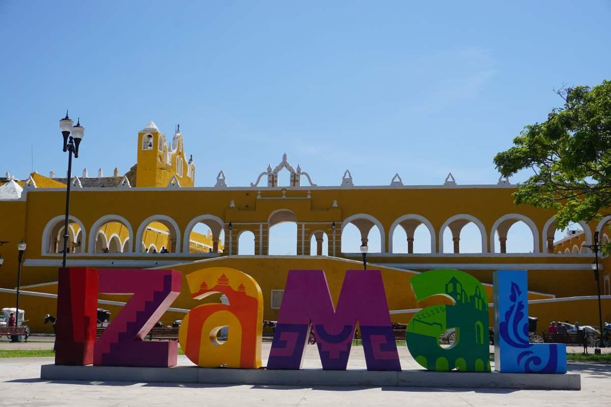 Visite d'Izamal, Mexique