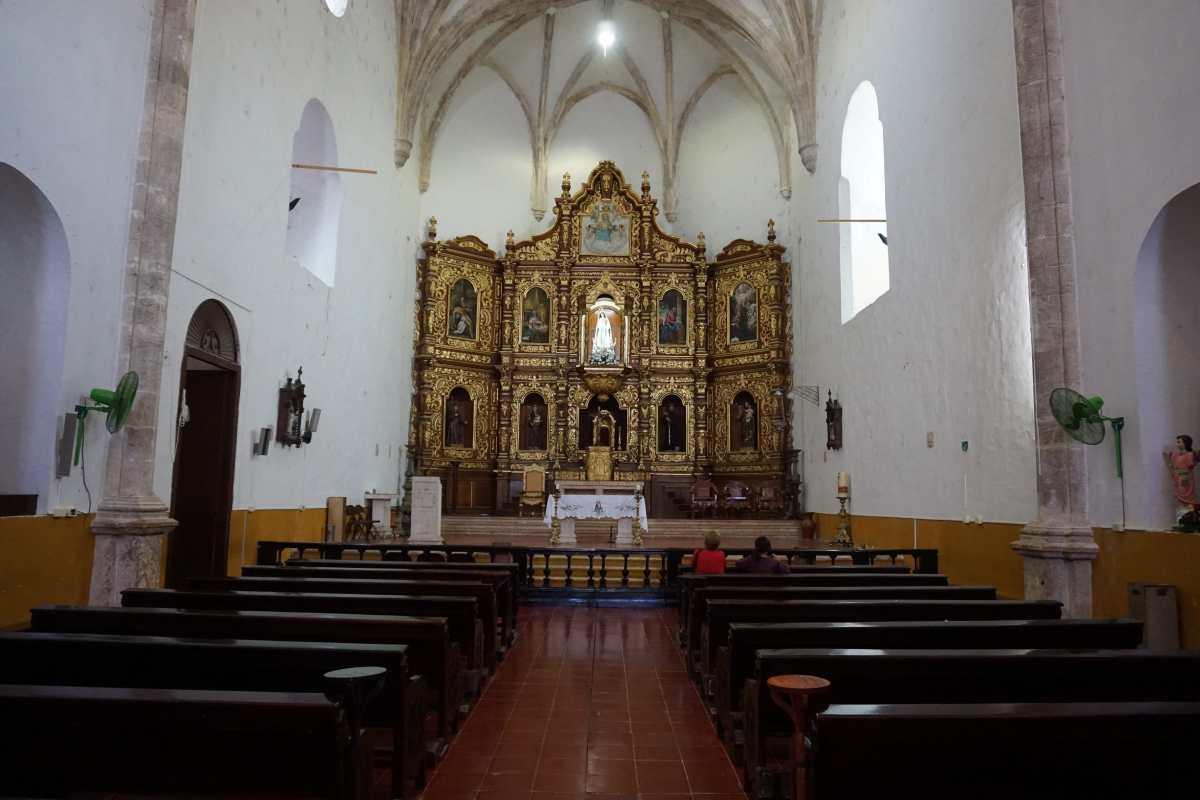 Chapelle du Couvent d'Izamal, Mexique