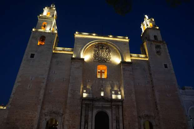 Eglise de Mérida, Mexique