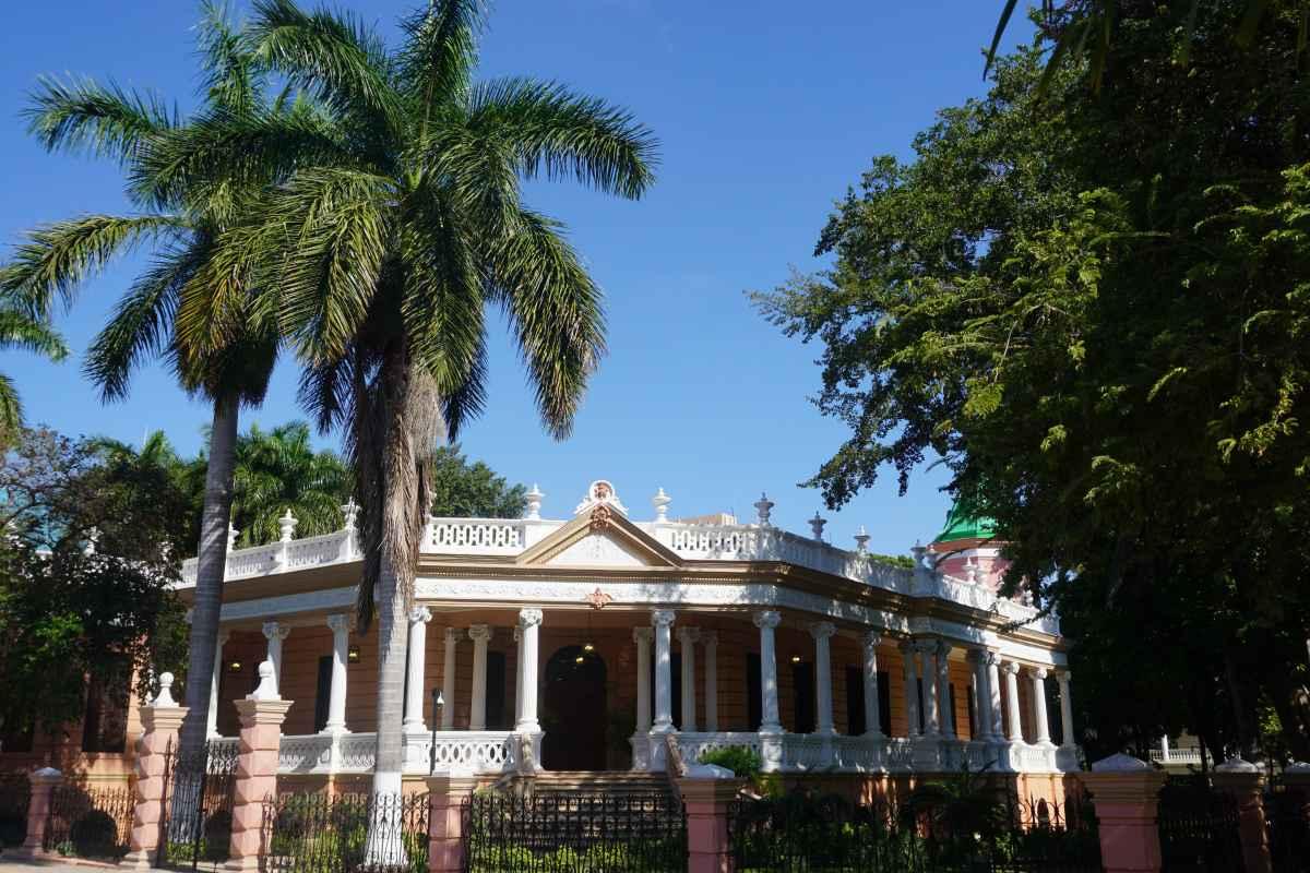Colonial house of Paseo Montejo, Mérida, Mexique