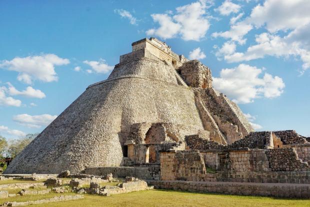 Grande Pyramide d'Uxmal, Mexique