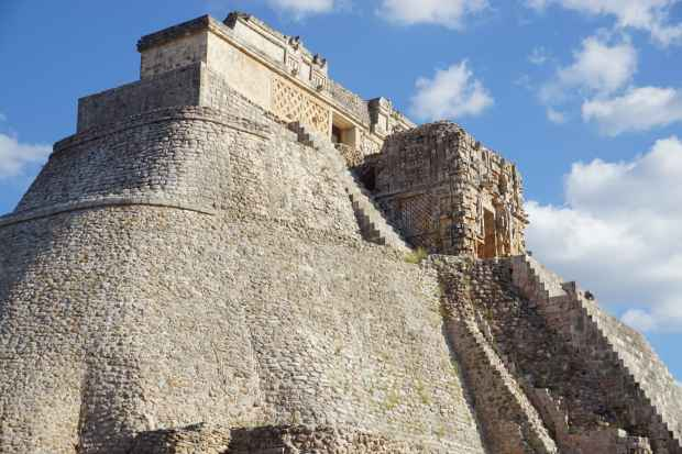Pyramid of Uxmal, Mexico